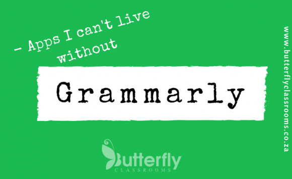 Apps I can't live without: GRAMMARLY