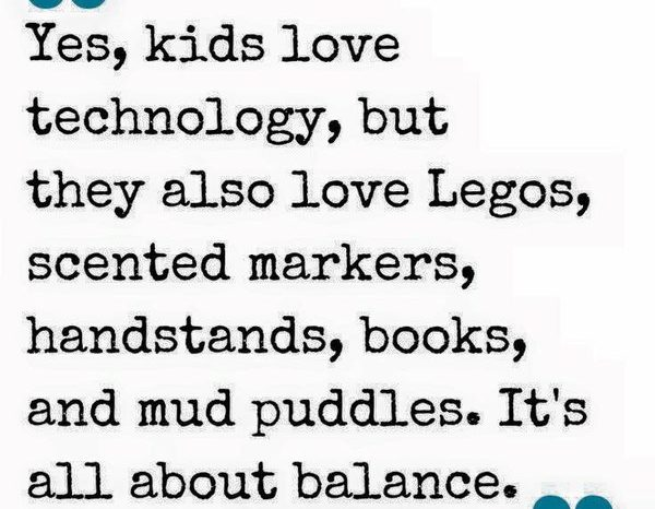 Principal 7: Kids like technology but…