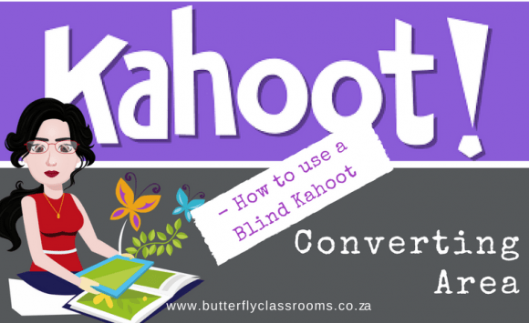 Blind kahoot: Converting Area