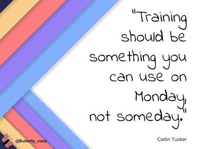 Professional development: Monday, not someday.