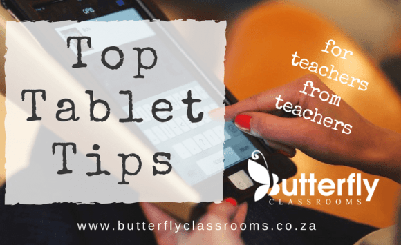 Top Tablet Tips