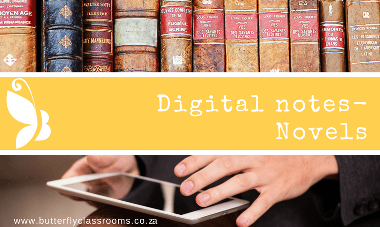 Digital notes: Novels