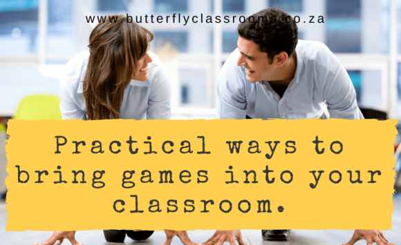 Examples of bringing play into your classroom