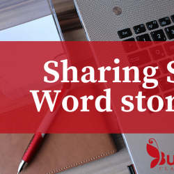 Sharing Six-Word Stories