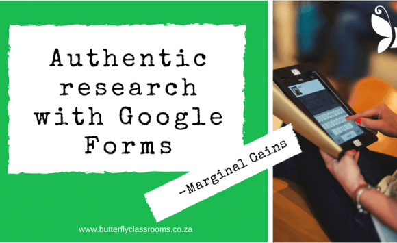 Google Forms creates authentic research