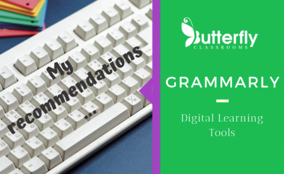 Digital Learning Tools – GRAMMARLY