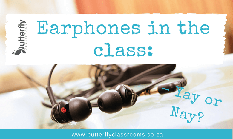 Classroom technology: Should you allow earphones?