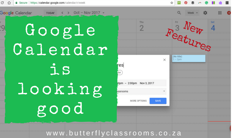 Google Calendar is looking good.