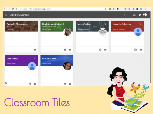 Archive Google Classroom
