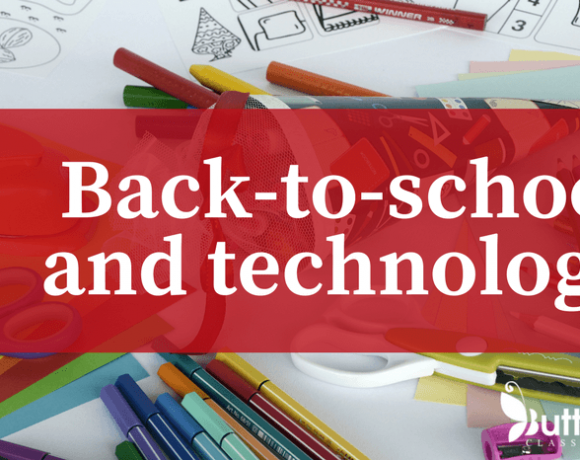 Back-to-school technology activities