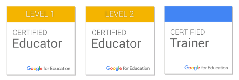 Google for Education Certified Badge