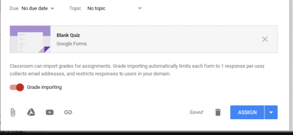 Create a Google form