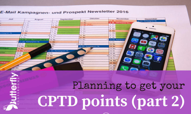 How can you earn CPTD points?