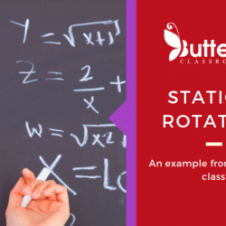Station-Rotation model – Tips and tricks from the maths class