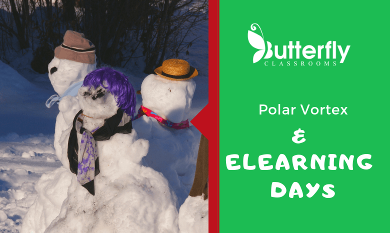 Polar Vortex and eLearning Days